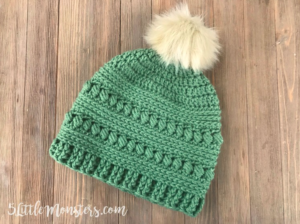 the bead stitch hat